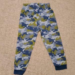 okie dokie Pajamas - Okie-Dokie 4T Blue Camo Robot long sleeve PJS